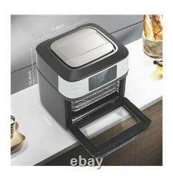 10-in-1 Air Fryer Oven, 20 Quart Airfryer Toaster Oven Combo, 1800W Large Air