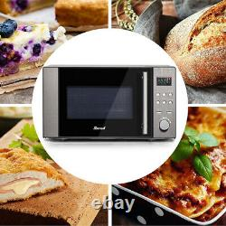 3 In 1 Combination Microwave Oven Stainless Steel Convection Oven Grill 800W 20L