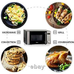 3-in-1 Combination Microwave Oven Convection Grill Air Fryer Fast Cooking 20L