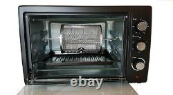 35L Convection Rotisserie Grill BBQ Oven 1500W + Roasting Drum for Coffee Beans