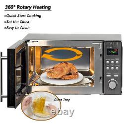 800W Microwave Oven Grill Convection Combination 20L Digital Stainless Steel