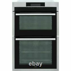 AEG DCE731110M Built In Double Electric Oven Stainless Steel FA8597