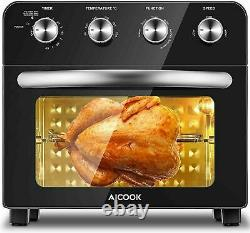 AICOOK Air Fryer Toaster Oven 23L Convection Mini Oven Electric Countertop. FM