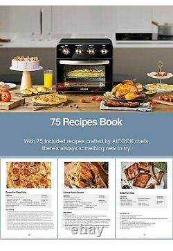 Aicook Air Fryer Toaster Oven 23L Convection Mini Oven Electric with Rotisserie