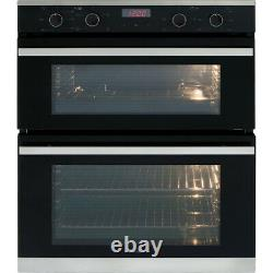 Amica ADC700SS Built Under 60cm Electric Double Oven A/A Stainless Steel New