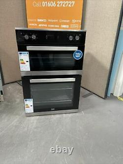 BEKO Pro BXDF25300X Electric Double Oven Stainless Steel HW174923