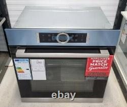 BOSCH Serie 8 HBG674BS1B Self Cleaning Built-In Oven, RRP £899