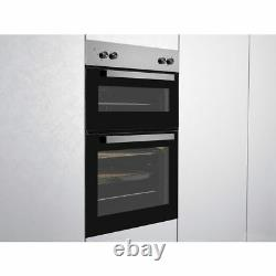 Beko BRDF21000X Built In 59cm A/A Electric Double Oven Stainless Steel New