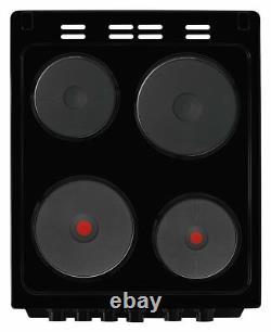 Beko KD533AK Free Standing 50cm 4 Hob Double Electric Cooker Black