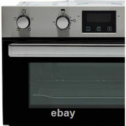 Belling BI702FP Built Under 60cm Electric Double Oven A/A Stainless Steel New