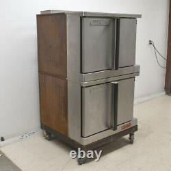 Blodgett Mark V-111 1-Deck Roll-in Full Size Double Electric Convection Oven
