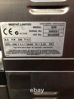 Blue Seal Turbofan E25c Convection Oven Double Stack Commercial Catering