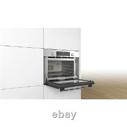 Bosch CPA565GS0B Serie 6 Built-in Combination Microwave Oven With Steam Cooking