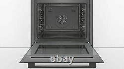 Bosch HBS534BB0B Multifunction Built In Electric Single Oven, 7 Heat Settings