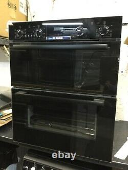 Bosch NBS533BB0B Electric Build -Under Double Oven, Black / New