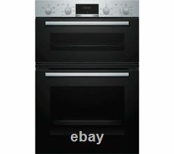 Bosch Serie MHA133BR0B Built in Electric Double Oven Stainless Steel mha133brob
