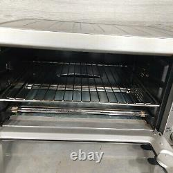 Breville BOV800XL Smart Oven 1800-Watt Convection Toaster Stainless Steel Tested