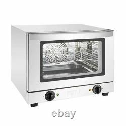 Buffalo Convection Oven in Silver Stainless Steel & Glass 21L