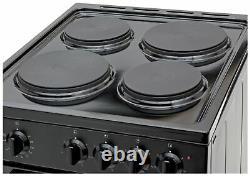 Bush BESAW50B 50cm Single Electric Cooker Black