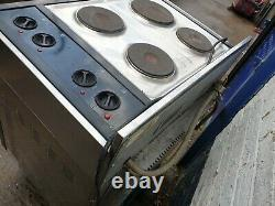 Commercial Catering Blue Seal Turbofan Convection Oven And 4 Plate Hob