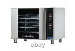 Commercial Catering Oven Blue Seal Turbofan Convection E31D4 and Stand SK2731N