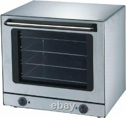 Commercial Electric Fan Convection Oven Holding Bake Off Roaster Table Top