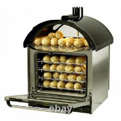Commercial Electric Potato Oven/Convection Oven with Large Oval Holding area