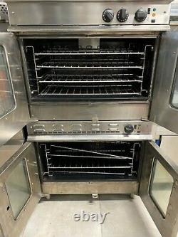 Commercial Moorwood Vulcan Stacked Gas Convection Oven