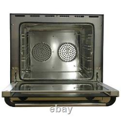 Commercial table top convection fan oven with 4 shelves 50 litre baking cake