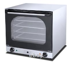 Convection Bake Off Oven with optional water vapour function