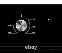 Cookology 60cm Digital Timer Fan Oven in Black & Touch Control Ceramic Hob Pack