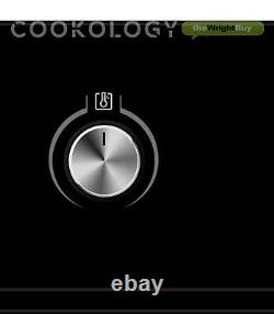 Cookology 60cm Self-Cleaning Pyrolytic Oven & Touch Control Induction Hob Pack