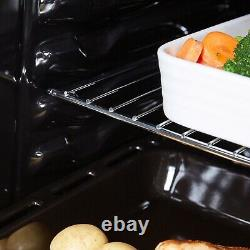 Cookology COF605WH Built-in Electric Oven & TCH602WH 4-Zone Touch Control Hob