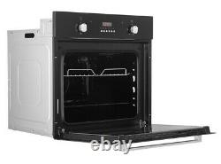 Cookology FOD60BK 60cm Integrated Electric Fan Oven with Grill