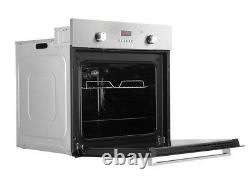 Cookology FOD60SS 60cm Integrated Electric Fan Oven with Grill