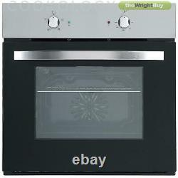 Cookology Single Electric Fan Forced Oven & 60cm Built-in Induction Hob Pack