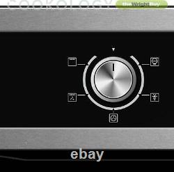 Cookology Stainless Steel 60cm Built-in Electric Fan Oven & Gas Hob Pack