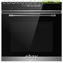 Cookology TOF690SS Touch Control Multifunction Built-in Oven, Electric, 72L