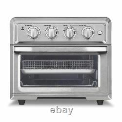 Cuisinart Air Fryer Toaster Oven With Light Stainless
