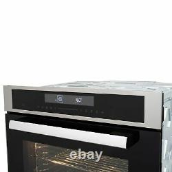ElectriQ 72L 13 Function Stainless Steel Touch Control Electric Fan Single Oven