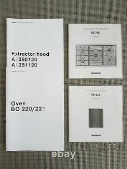 Gaggenau Oven, Gas Hob, Electric Grill & Island Extractor (Bosch Siemens Neff)