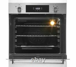 Hoover Built In Single Electric Fan Oven With Grill HOC3E3158IN Stainless Steel