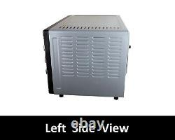 Huge 45L Convection Rotisserie BBQ Bench Oven Roaster Air Fryer 1850W 1yr Wrnty