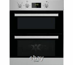 INDESIT Aria IDU 6340 IX Electric Built-under Double Oven Stainless Steel