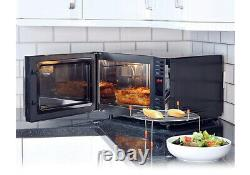 Igenix IG2590 900w Combination Microwave Oven, 25 Litre Black