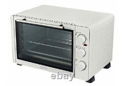 Igenix Ig7131 30 Litre Mini Table Top Oven In White With 60 Minute Timer