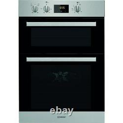 Indesit IDD6340IX Aria Electric Built In Double Oven Stainless Steel