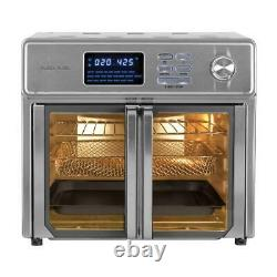KALORIK Air Fryer Oven Stainless Steel Adjustable Thermostat LED Display 26 Qt