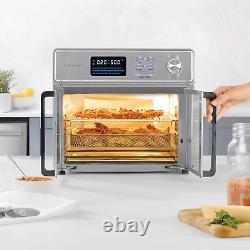 Kalorik 26 QT Digital Maxx Air Fryer Oven with 9 Accessories, Roaster, Broiler