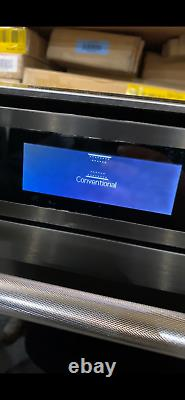 KitchenAid built in 60cm Electric fan oven black stainless steel KOTSSB 60600